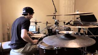 Caymen Sans - The Word Alive - Dragon Spell (Drum Cover)
