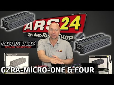 Mini-Verstärker mit richtig Power | Ground Zero GZRA MICRO ONE & FOUR | REVIEW | ARS24