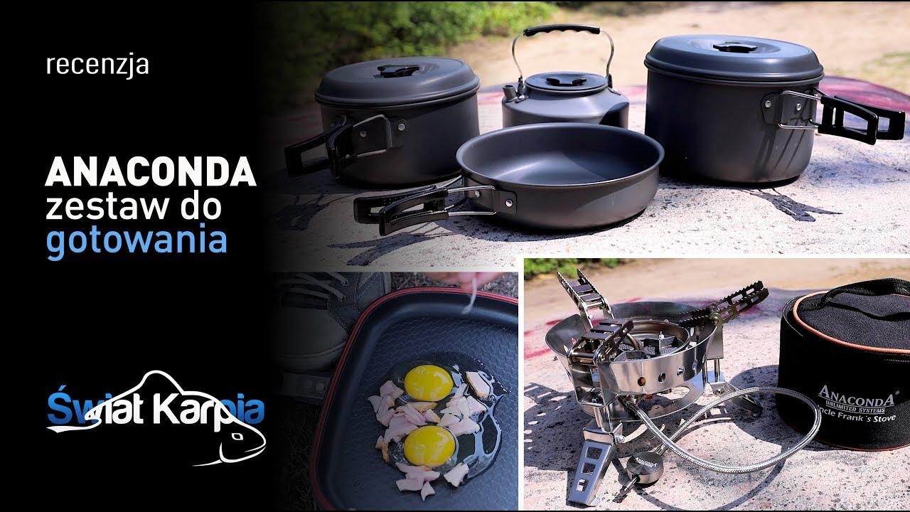 Anaconda - zestaw do gotowania nad wodą