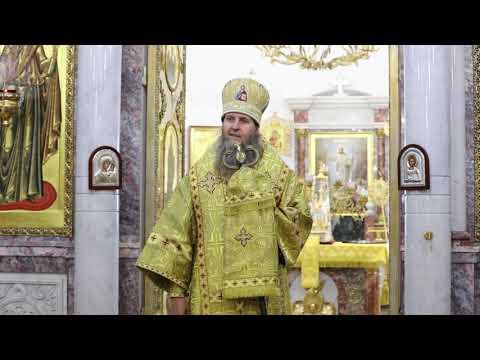 Слово митрополита Даниила в день свт. Митрофана Воронежского