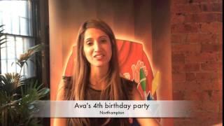 Ava's 4th birthday party