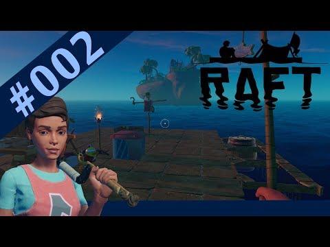 Eine Ente im Fangnetz! - #002 - Raft - Early Access - 2018 - Gameplay german deutsch