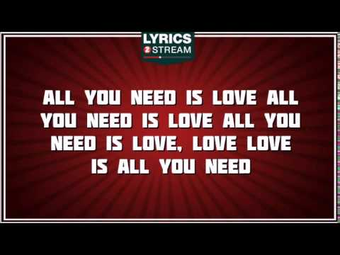 All you need is love (Letra)