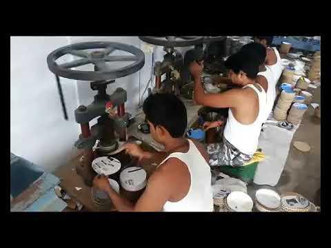 Hand Operated Paper Plate Making Machine