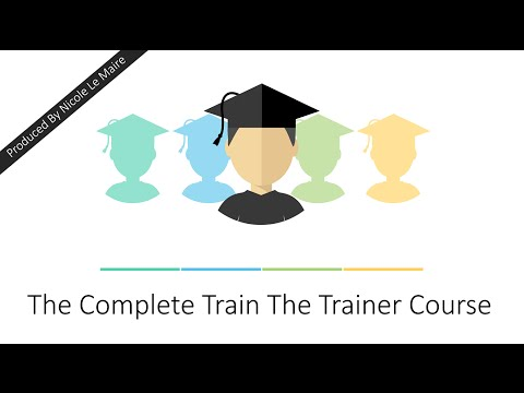 Train The Trainer Course - YouTube