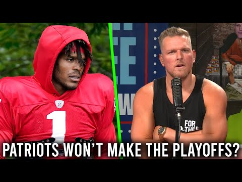 Pat McAfee Reacts To ESPN Analyst Saying Patriots Won't Make The Playoffs