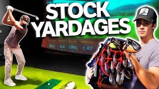 My AVERAGE Yardage For EVERY Club In My Golf Bag | GM GOLF