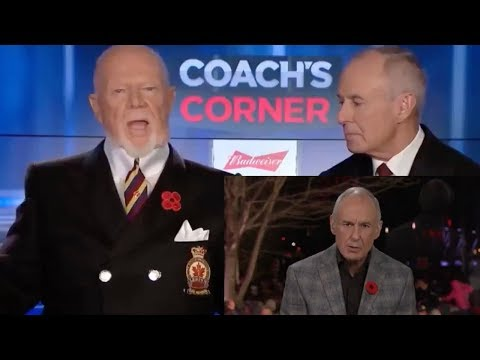 Don Cherry's comments & Ron MacLean's apology