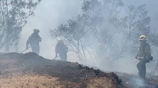 Огненное бедствие в Калифорнии