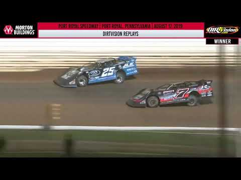 DIRTVISION REPLAYS | Port Royal Speedway August 17th, 2019
