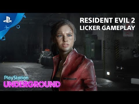 Licker Gameplay de Resident Evil 2
