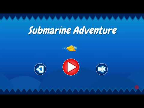 Submarine Adventure Unity3D Game Source Code - One Touch Games
