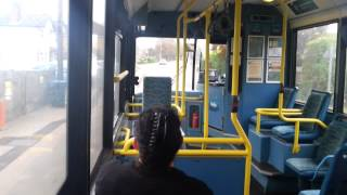 preview picture of video 'Letchworth Town Services Arriva Shires Plaxton Dennis MPD 3498 W498 YGS'