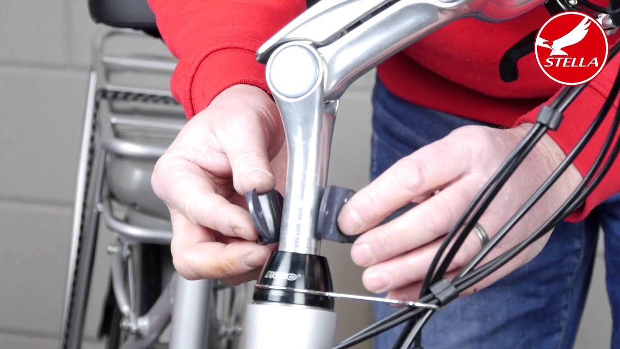 Fietsmand monteren elektrische fiets