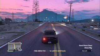 GTA5 Online - Lester Crest Mission, Quarry Quarry
