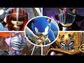 Sonic And The Black Knight All Bosses Cutscenes no Dama