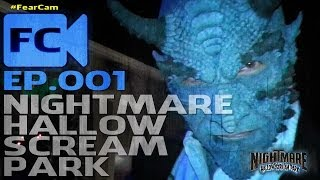 Ep. 001 - Sneak Peek At Nightmare Hallow Scream Park Inside One Of The Attractions - Chemical Image
