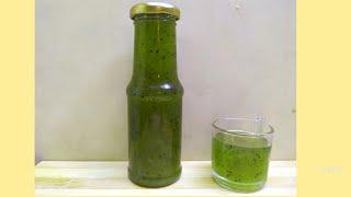 Homemade Kiwi Crush | No Preservative | No Added Colour