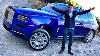 ROLLS-ROYCE CULLINAN – ПЕРВЫЙ ТЕСТ-ДРАЙВ !!! Самый дорогой кроссовер в мире – от 25 млн. V12 6.75 L