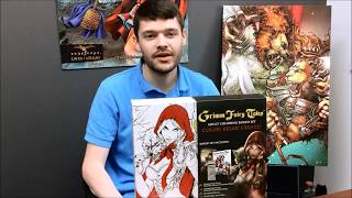 Grimm Fairy Tales Coloring Book Boxed Set Kickstarter Announcement!
