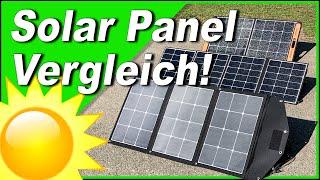 BESTES faltbares SOLAR PANEL 2021? Vergleich! ☀️ PowerOak | Plugin Festivals | Jackery | Test Review