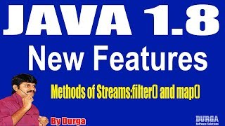 Java 1.8 New Features || Introduction to Streams ||  Session - 29 by Durga Sir