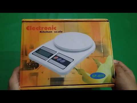 Unboxing Electronic Weighing Scale !