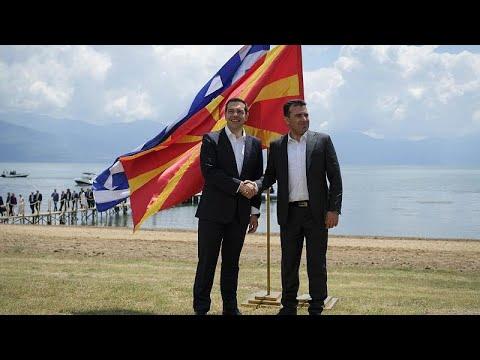 Την Τρίτη στη Βόρεια Μακεδονία ο Αλέξης Τσίπρας