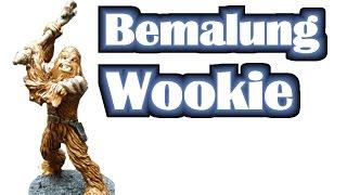 Wie bemale ich einen Chewbacca Wookie für Star Wars Imperial Assault? - Anfänger Mal Tutorial