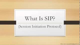 4 What is SIP? - Asterisk Tutorial Urdu / Hindi