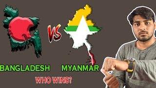 "Bangladesh Vs Myanmar Comparison 2018 || ""SHONAR BANGLA"" Ep29"