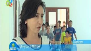 "Mening Yurtim (MY5) TV channel aired a report on ""Hour of Code"" campaign at IUT"