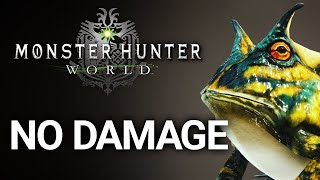 Can you beat Monster Hunter World Without Taking Damage?