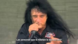 Anthrax - Indians [The Big Four: Live Gothenburg 2011 HD] (Subtitulos Español)
