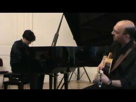 """G.Mazzu' (guitar) L.Troja (piano) Live at Italian Cultural Institute London """"All the things you are"""""""