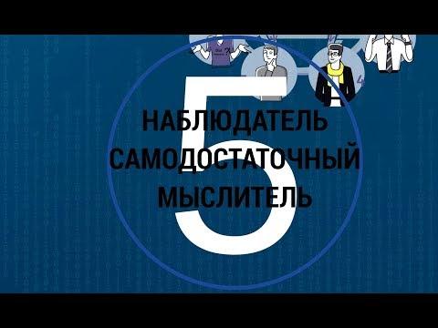 5 Наблюдатель, мыслитель, самодостаточный МАТРИЦА #9ФИГУР командные роли 5 пять пороков команды