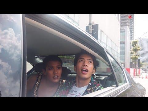 Nabil Aqil & Alicia Amin Menaiki Volkswagen Passat ke perasmian #StailishRooms di Pavilion Hotel