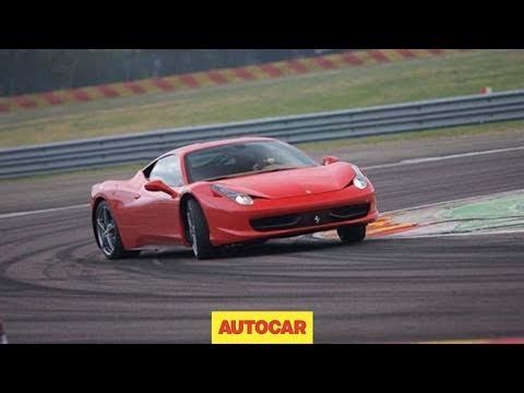 Ferrari 458 Italia driven by autocar.co.uk