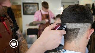 Mens Skin Fade Faux Hawk Haircut