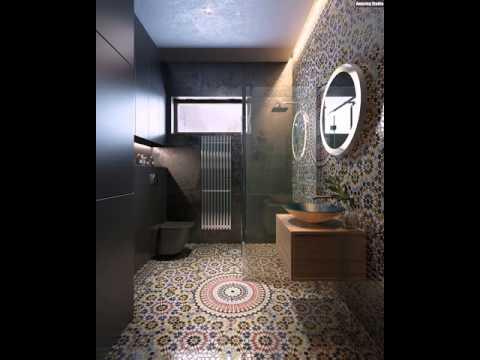 Erstaunlich Badezimmer mit marokkanischen Fliesen