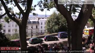 preview picture of video 'Video Tour of an Alcove Studio Vacation Rental in Montmartre, Paris'