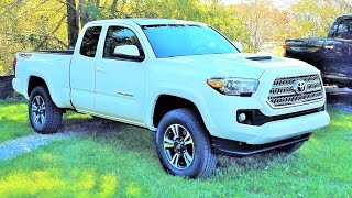 2016 Toyota Tacoma TRD Sport 4X4 V6 Access Cab Start Up, Review and Tour