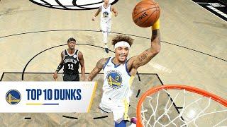 Golden State Warriors TOP 10 DUNKS of 2020-21 Season 💪