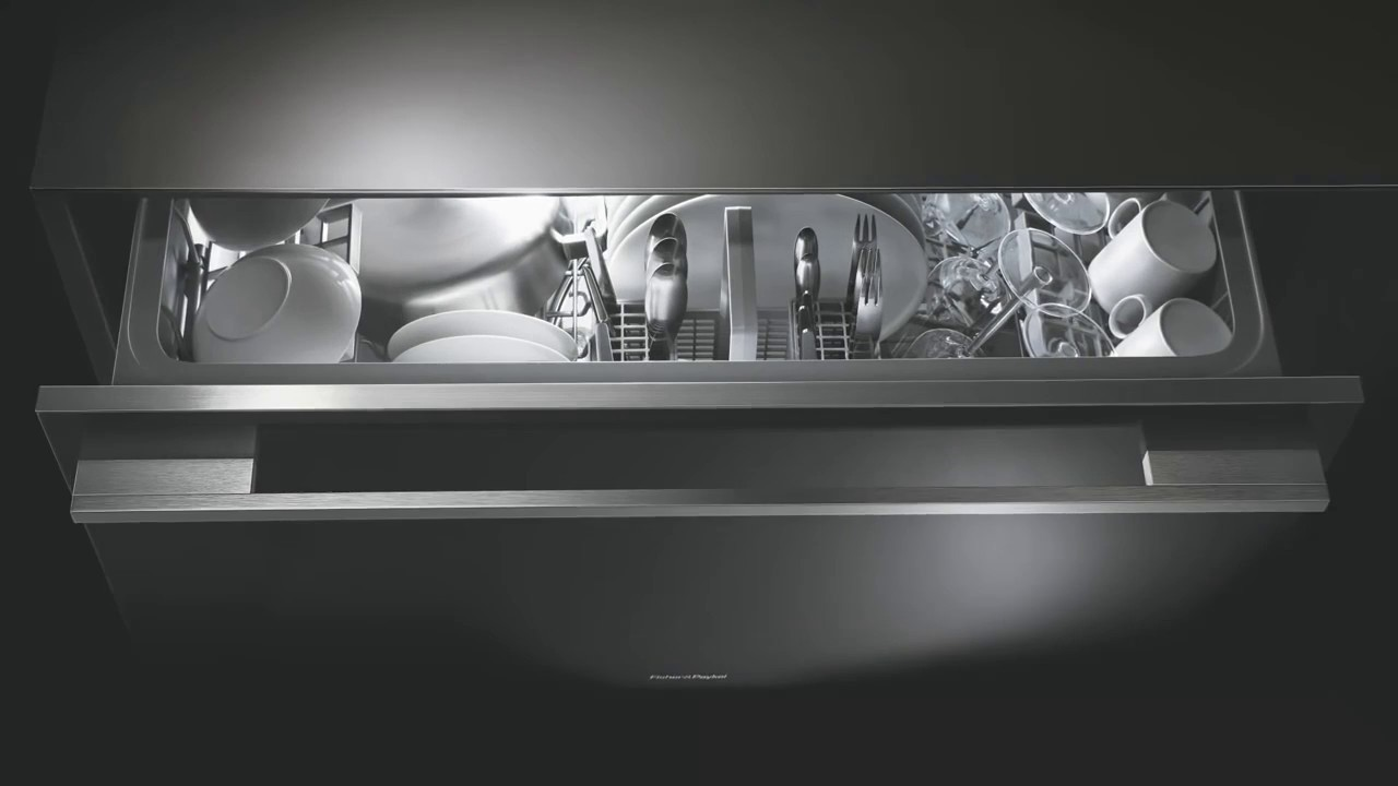 lave vaisselle tiroir 45 cm fisher paykel inox d. Black Bedroom Furniture Sets. Home Design Ideas