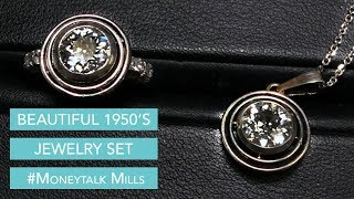 Beautiful 1950s Jewelry Set