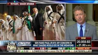Rand Paul on the US Selling Weapons to Saudi Arabia