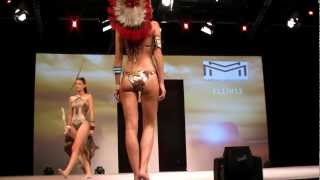 preview picture of video 'Mode City Paris 2012: swimwear & lingerie catwalk show 3'