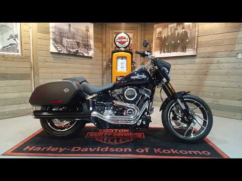 2020 Harley-Davidson Sport Glide® in Kokomo, Indiana - Video 1