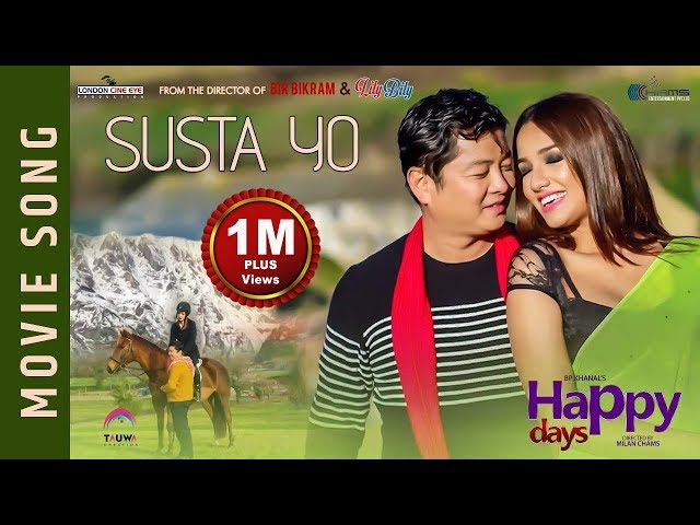 "Thumnail of New Nepali Movie - "" Happy Days"" Movie Song 