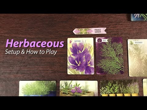 Herbaceous - Setup & How to Play